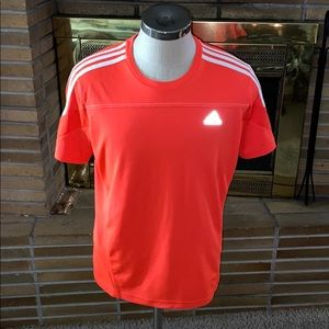 Men's Adidas Climalite Running Shirt Size Large